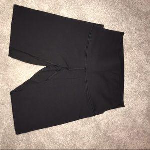 lululemon athletica Pants - Lululemon High rise Wunder under cropped black 6